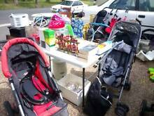 Various Strollers Vee Bee, Phil & Ted, McLaren, etc Cardiff Lake Macquarie Area Preview