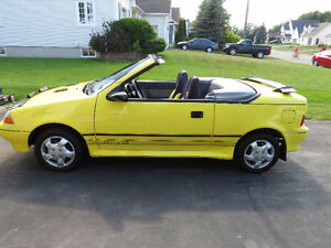 1990 Pontiac Firefly Convertible (reduced)