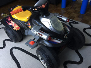 Great 12v Electric Ride Toy ATV 4 Wheeler 4x4 Toddler Kids Bike