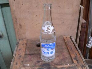 plusieurs bouteille antique de collection