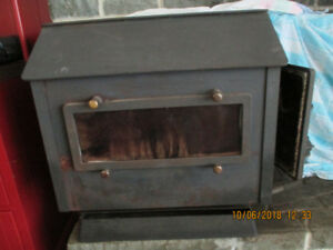 Large Side-Loading Sierra Wood Stove