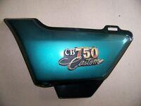LOTS DE PIÈCES USAGÉE:    HONDA 750 CB CUSTOM 1981-82
