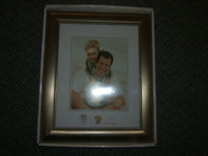 "PEWTER 8"" X 10"" PICTURE FRAME STILL IN BOX"