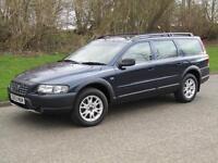 2003 53 Volvo XC70 2.4 D5 SE Auto Diesel Estate 4x4 163 bhp Nautic Blue