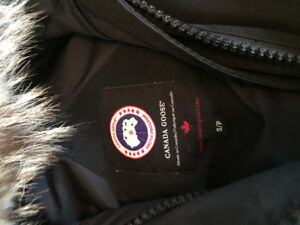 Men's Small Black Canada Goose Chilliwack Bomber Jacket