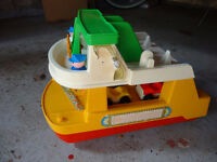 Vintage Fisher Price Construction Toy