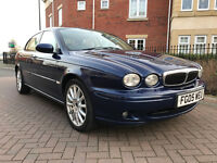 Jaguar X-Type 2.0D S (blue) 2005