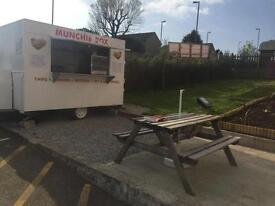 Burger van ready to go or Pitch available! Liskeard pl14