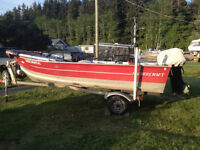 16 ft Harbercraft, 30 hp Merc $ 4500.00