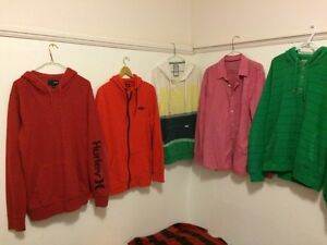 Youth Branded sweaters, tshirts, and pants
