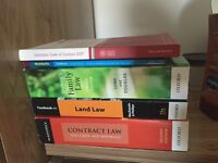 Job lot law textbooks