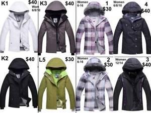 NEW 10k Waterproof SNOW Jacket Women Girls Windproof $30-$40