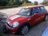 MINI Cooper S 1.6I 16V COOPER S NEW MOT (red) 2007