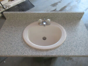 COUNTER TOP , SINK AND TAPS