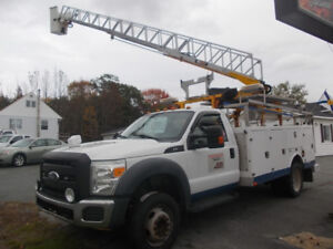 2011 Ford F450 Bucket truck with work body READY TO WORK