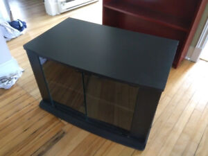 Black Medium sized TV Stand