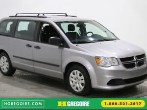 2016 Dodge GR Caravan Canada Value Package A/C GR ELECT BLUETOOT