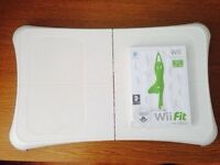 Nintendo Wii Fit Board for Nintendo Wii Console + Game - All Boxed in Clean Condition - £15 Only!