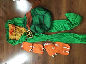 Adult Michaelangelo Ninja Turtle Costume