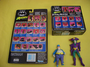 BATMAN RETURNS ROBIN JET FOIL CYCLE, ROBIN AND 2 LOOSE FIGURES London Ontario image 2