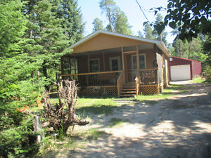 Cabin for sale.  -2 Bedrooms  -Full bathroom  -Own well and hol