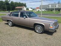Wow only **19500 km** 1984 Cadillac D'elegance Deville
