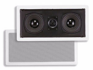 Caliber In-Wall Speaker Dual 5.25-Inch Center Channel (single)