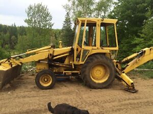 1979 Ford 550 Backhoe Industrial