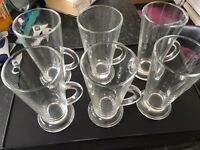 Coffee glasses x6