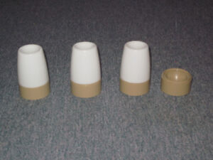 Egg cups with lids