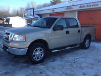 2007 FORD F150 4X4 WITH FREE 2 YEAR UNLIMITED KILOMETER WARRANTY