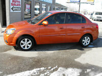 2010 Kia Rio EX SEDAN  LOADED  AUTO  SAFETIED AND E-TESTED..SALE