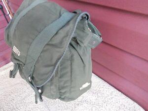 Vintage Style--Roots Athletics Crossbody Messenger Canvas bag!