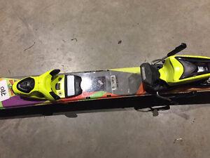 Childrens rossignol skis size 135