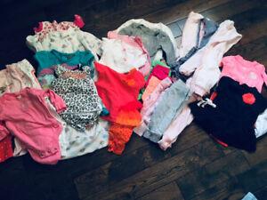 Lot vêtements bébé fille NB-3 mois