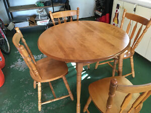 Maple KitchenTable w/ Four Chairs