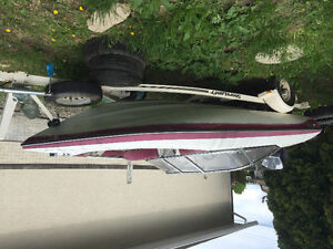 115hp evinrude 16ft hull