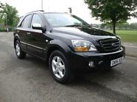 Kia Sorento 2.5CRDi XT Auto, 2006 56, Black, High Spec Model, FSH,