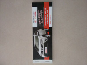 Richmond Hill Toyota Coupon Book