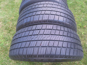 4 RIKEN RAPTOR VR 215 55R 17   94V M+S  TIRES Kitchener / Waterloo Kitchener Area image 2