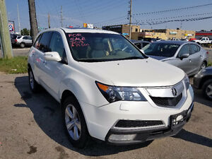 2013 ACURA MDX SUV LEATHER TAN INTERIOR