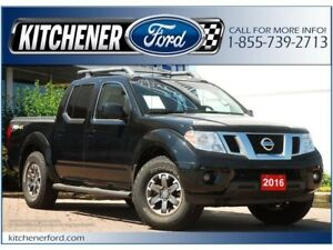 2016 Nissan Frontier PRO-4X |ONLY 26K KM'S! | CAM | ROOF RACK...