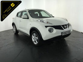 2013 63 NISSAN JUKE VISIA 1 OWNER NISSAN SERVICE HISTORY FINANCE PX WELCOME