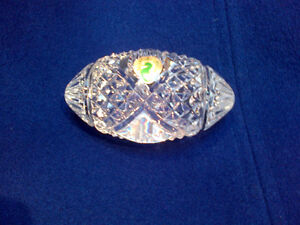 Waterford Crystal Football paper weight for All Star Dad Kitchener / Waterloo Kitchener Area image 1