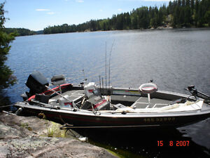 Used 1989 Other Fisher 18' SV-18GT all aluminum bass boat