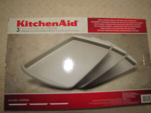 Brand New NEVER USED Large Kitchen Aid Cookie Sheets