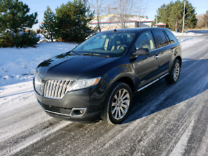 Lincoln MKX Limited Édition 4x4 2011 Navigation Cuir Toit Air