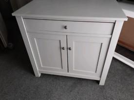 Computer desk or storage cupboard