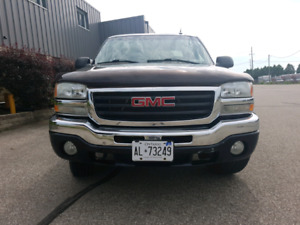GMC SIERRA 2004 5.3L V8 EXTENDED CAB WITH TOW PACKAGE