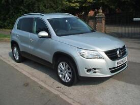 VOLKSWAGEN TIGUAN 2.0TDI 6 SPEED 140 4MOTION SE ONLY ONE OWNER FROM NEW